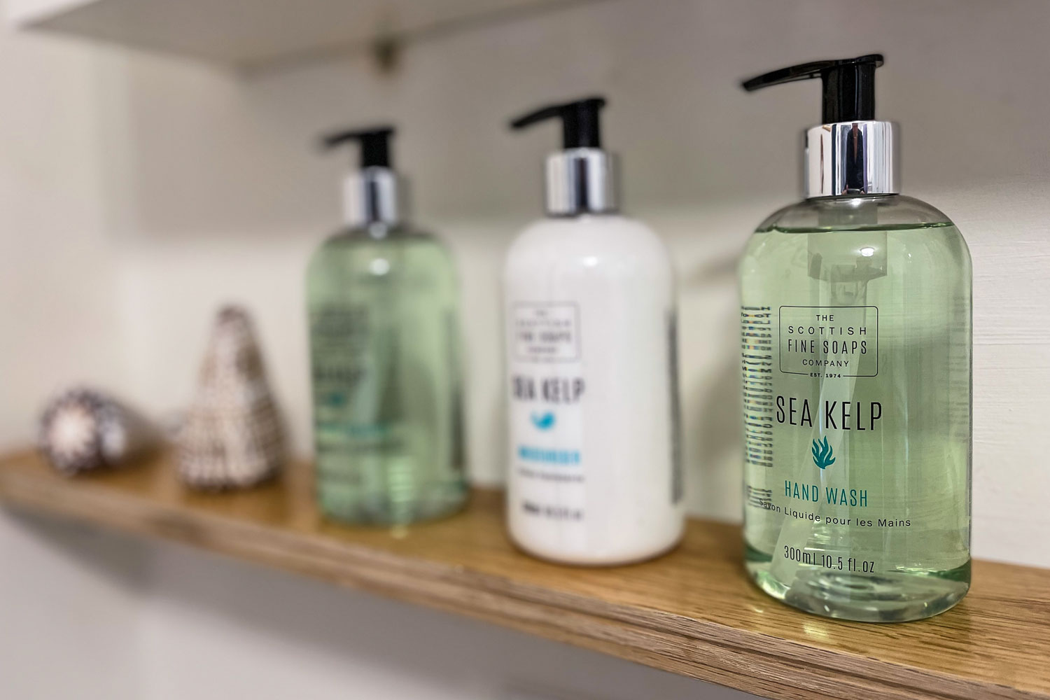 Bathroom Products at the Cottage at Coquet Meadows