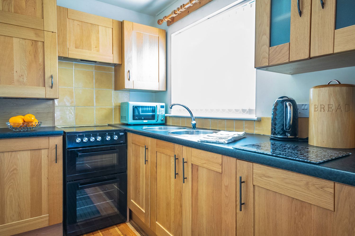 The Kitchen at the Cottage at Coquet Meadows