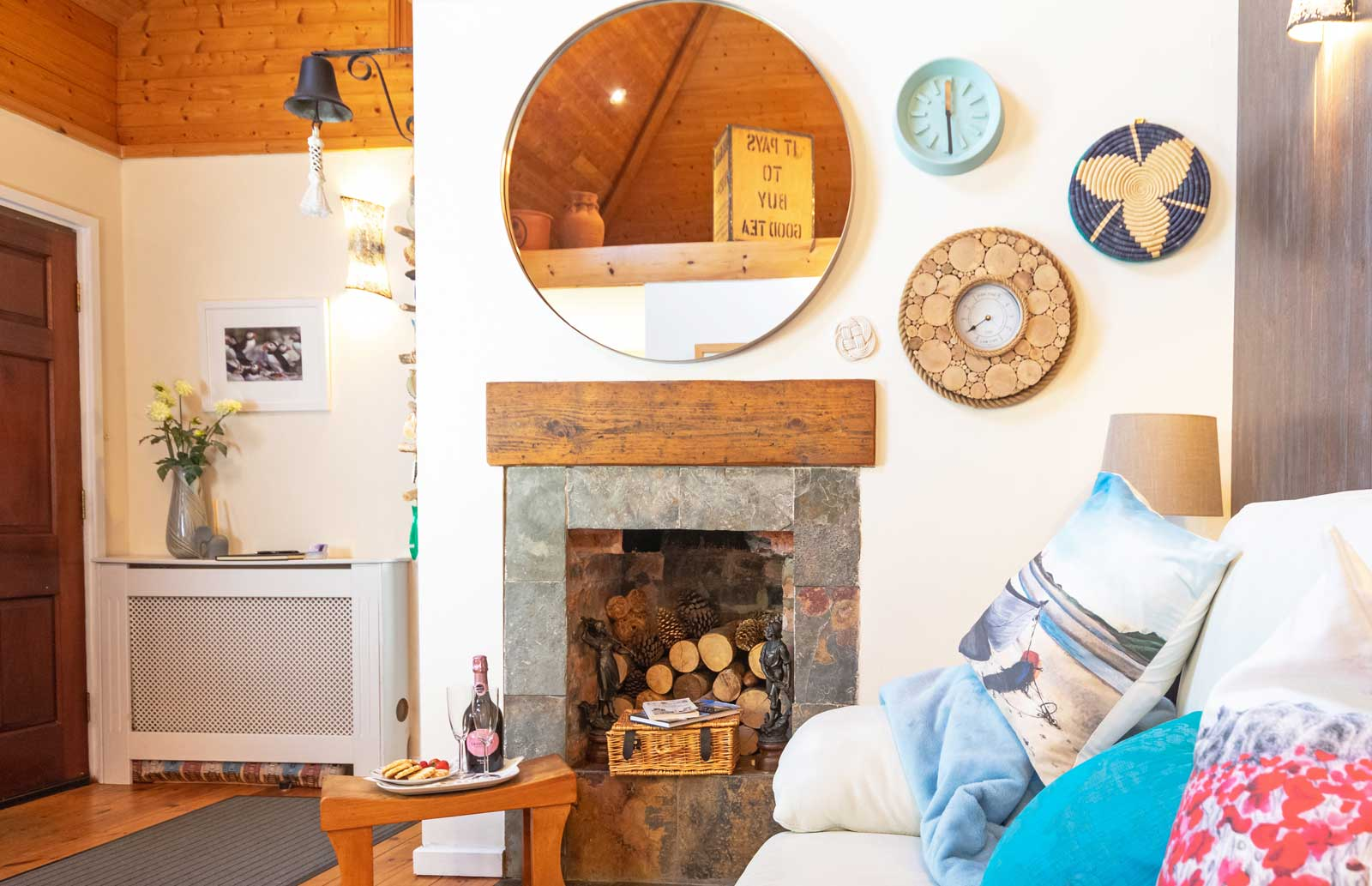 Interior at the Cottage at Coquet Meadows